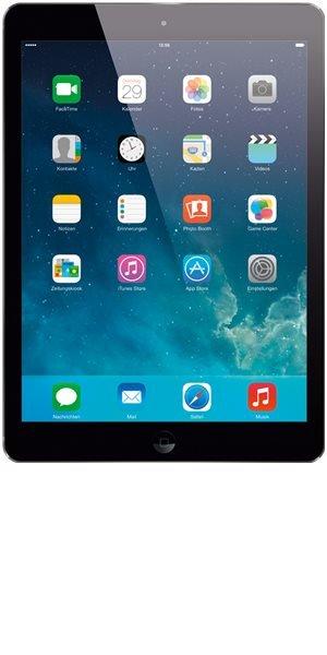 Apple iPad Air 16 GB + 4G space grau bei BASE für einmalig 449 Euro (natürlich ohne Vertrag)