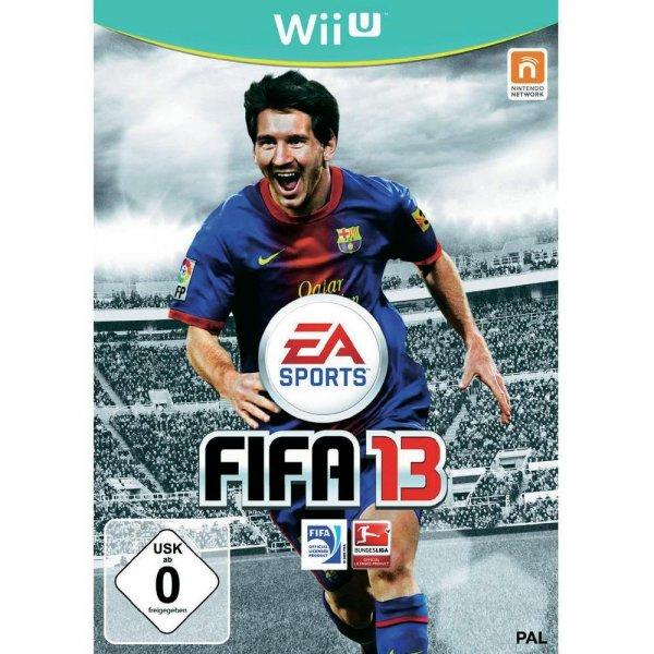 WiiU Fifa 13 15,68€ + 5,95 Versand oder Filliale evtl Newsl.Bonus beachten