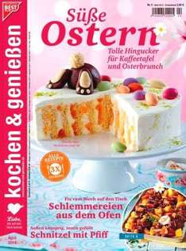 Kochen und Genießen Jahresabo für effektiv 9,80€