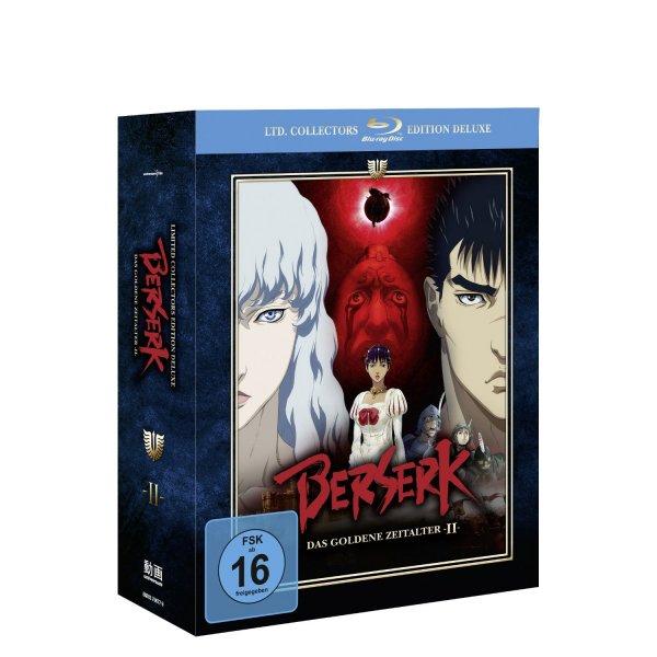 Berserk - Das goldene Zeitalter II (Limited Collector's Edition Deluxe) [Blu-ray] für 37€ @Amazon.de