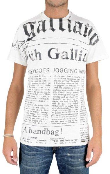 [LOKAL] Real,- HH-Oststeinbek: Galliano T-Shirts Größen M-XL für 12,00 €