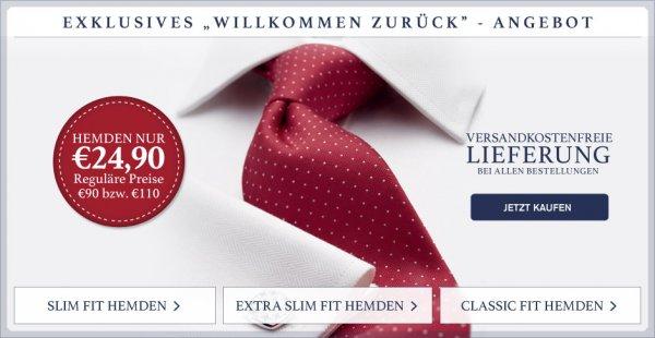 Charles Tyrwitt Hemden (mal wieder) für 24,90 € - VSK frei