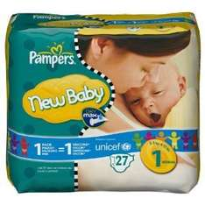 Amazon zieht mit- Pampers new baby Gr. 1 4x23 Stück