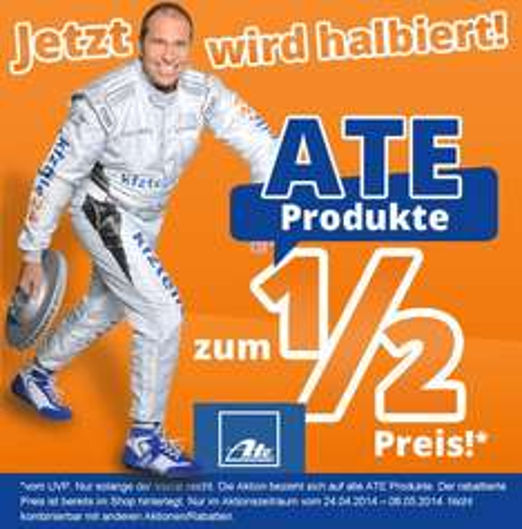 25% auf ATE Teile bei kfzteile24.de