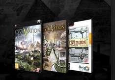 Gamefly -  Civilization 5  ( STEAM ) +  Civilization 4   +  Civilization 3  Complete  -   Bundle - für 6,15 €  - oder 2K Bundle ( STEAM ) für 9,51 €