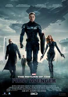 The Return of the First Avenger Poster für 1 Cent bei Saturn