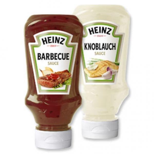 [Norma] Heinz Feinkost-Saucen versch. Sorten 25% Rabatt