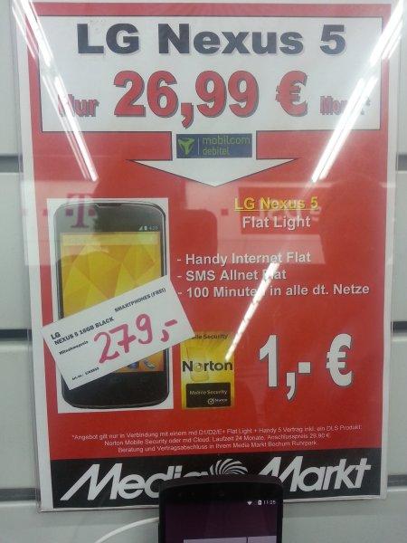 Nexus 5 (Lokal MM Bochum)