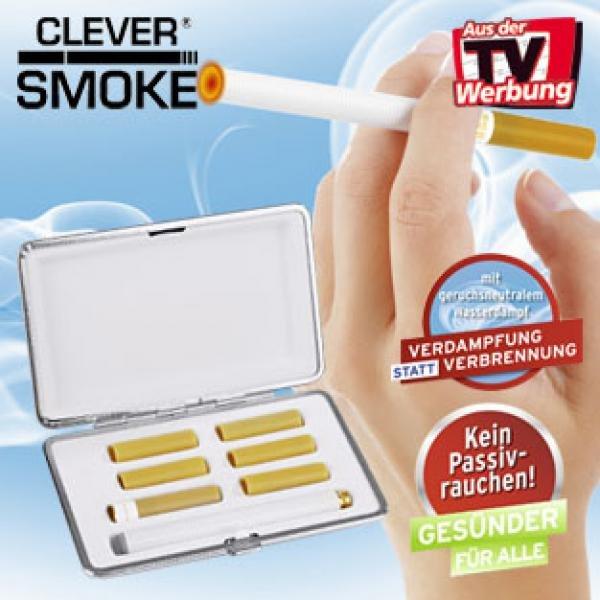 E-Zigarette von Clever Smoke (UVP 99€ ;-) , Amazon/ Idealo 19,99€ - Bekannt aus TV zu 11,90€ MP