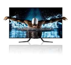 LG 47LA7909 - 47 Zoll Cinema 3D LED TV, Full HD, 800Hz MCI, DVB-T/C/S, WLAN - inkl. 4 3D-Brillen