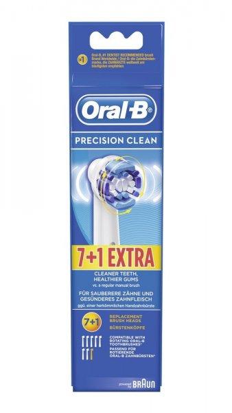 7+1 Braun Oral-B Aufsteckbürsten Precision Clean für 14,99€ (für Prime-Kunden) bei Amazon