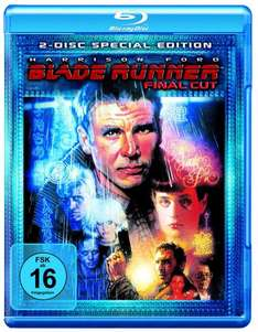 Blade Runner - Final Cut (2-Disc Special Edition) [Blu-ray] für 6 € inkl. Vsk.