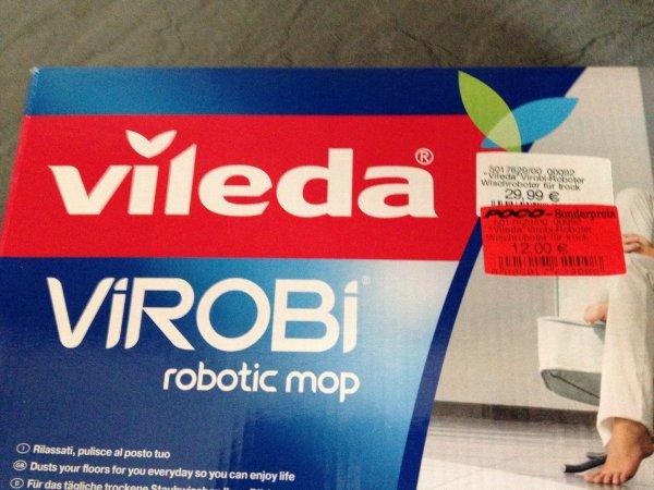 [Lokal Bremen Poco] Vileda ViRobi Wisch-Roboter