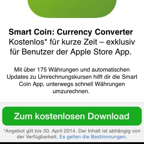 Smart Coin Währungumrechner gratis [iOS]