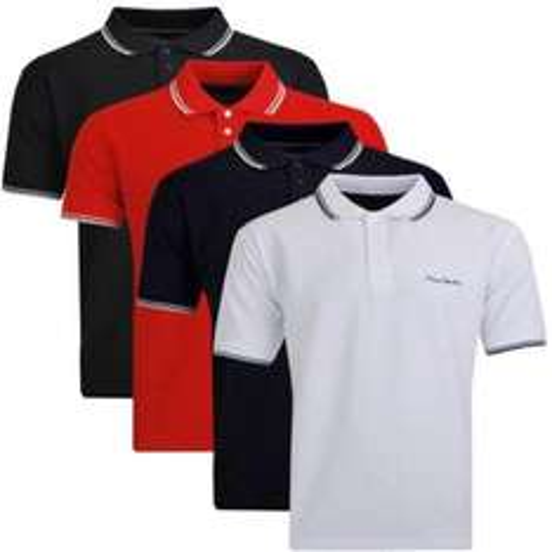 Pierre Cardin Herren Poloshirt Schwarz, Weiß, Blau, Rot 12,99 Ebay Wow
