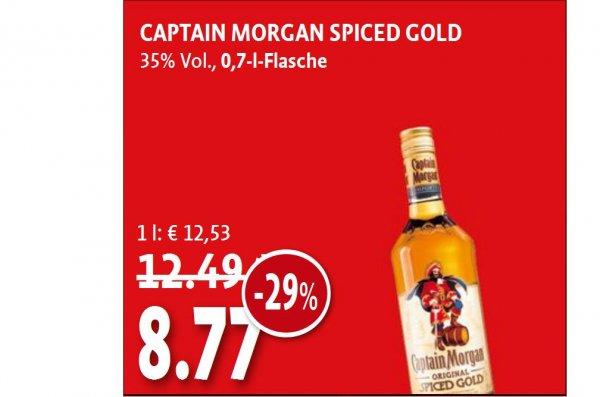 Bundesweit Kaiser's Captain Morgan 8,77 €