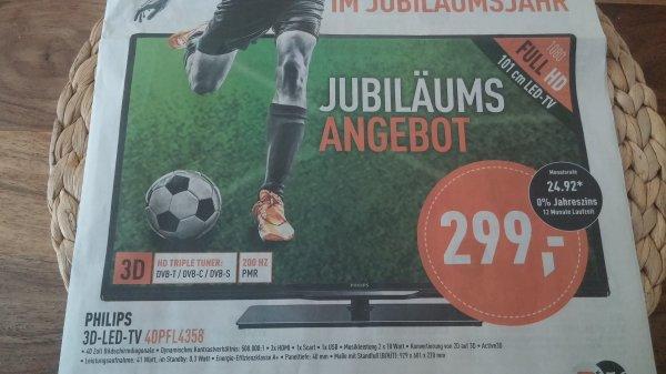 offline - Elektrofachmärkte Berlet - Philips 40PFL4358 3D-LED-TV - € 299.-