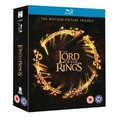 Herr der Ringe: Motion Picture Trilogy Blu-Ray (Theatrical Editions, nur Englisch)