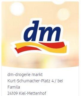 10% Willkommens-Rabatt zur Neueröffnung vom 30.04. bis 10.05.2014 [@dm-Markt Kiel]
