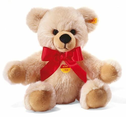 Steiff BOBBY Schlenker-Teddybär, creme, 30 cm in Verbindung mit Neukundengutschein