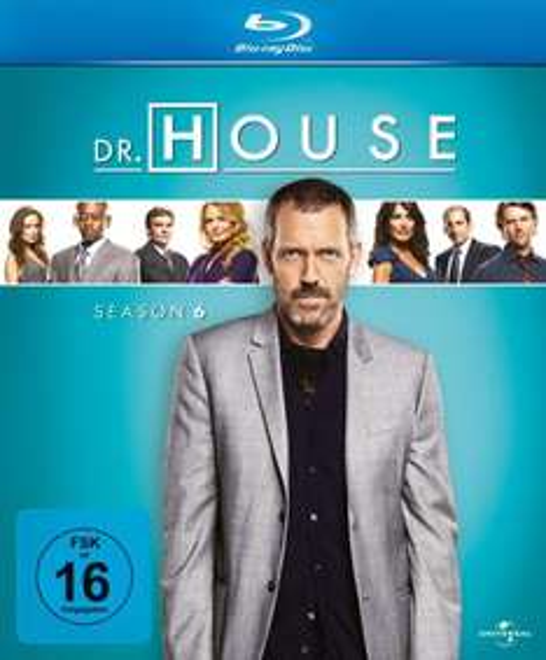 [BD] Dr. House Season 6 Blu Ray für 7,95 (Prime)  @Amazon.de (ohne Prime 10,95)