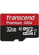 Transcend 32GB microSDHC Class 10 UHS-I (max. 45MB/s) für 14,99€ @Otto