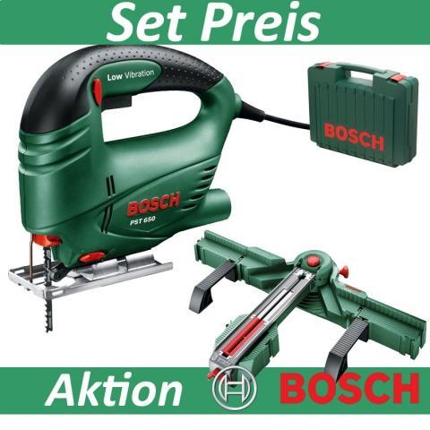 Stichsäge Bosch PST 900 + Sägestation Bosch PLS 300 für 109,12 € (UVP 199,98 €)