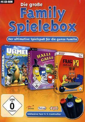Die große Family Spielebox 7,95€ + Versand bei bol.de
