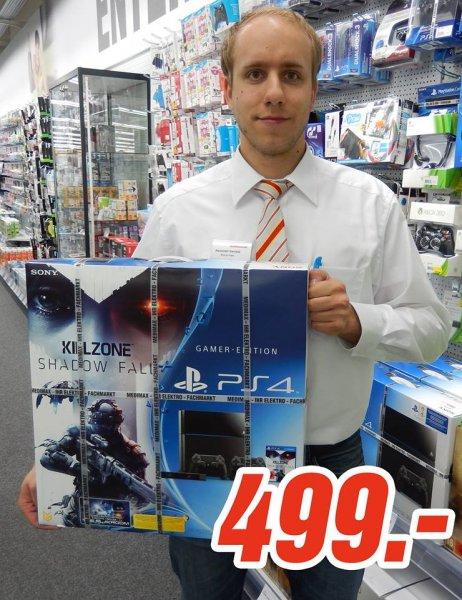 (lokal Medimax Gera) SONY PS4 + 2. Controller + PS4-Kamera + Killzone: Shadow Fall für 499€