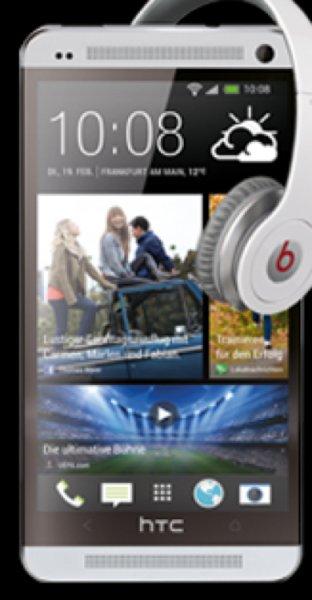 Allnet-Flat + HTC One + Beatskopfhörer