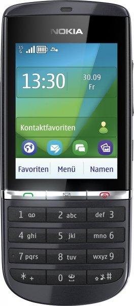 """Nokia™ - Touchscreen-Handy """"Asha 300"""" (2.4"""" 320x240, 3.2MP Cam,Series 40,Graphite) für €43,95 [@Smartkauf.de]"""