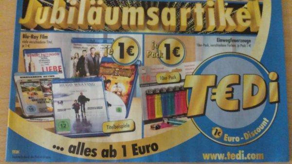 T€DI ab 05.05.2014 BLU-RAY für 1€ zb Pirates,Last Ride uvm