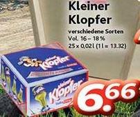 [DURSTY] Kleiner Klopfer für 6,66 Euro