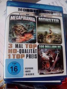 Monsterkino Blu Ray @ tedi