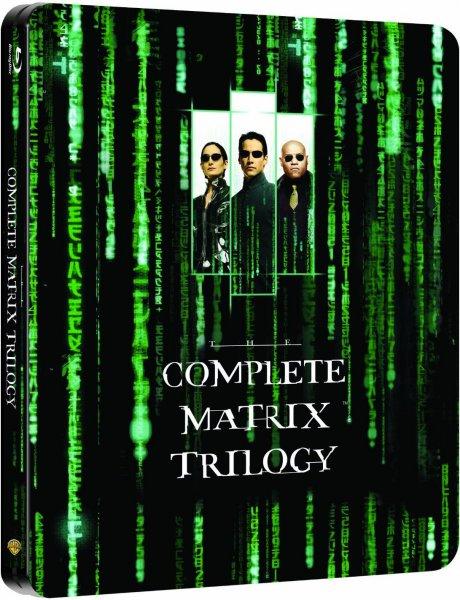 Preisupdate 05.05.2014 (Amazon) Matrix Trilogie Steelbook Edition für € 19,97 und versandkostenfrei (Blu-Ray)