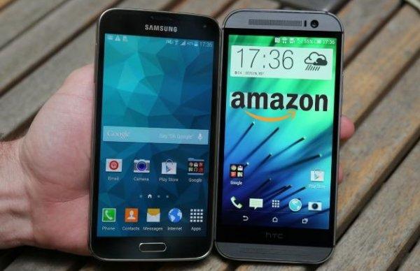 Amazon: HTC one M8 100€ günstiger Dank Vorbestellung von Samsung Galaxy S5