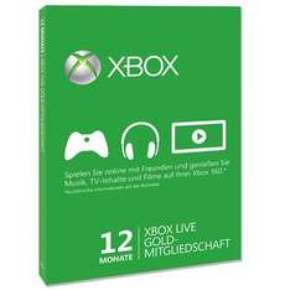 12 Monate Xbox Live Gold für 26,99€ @G2A