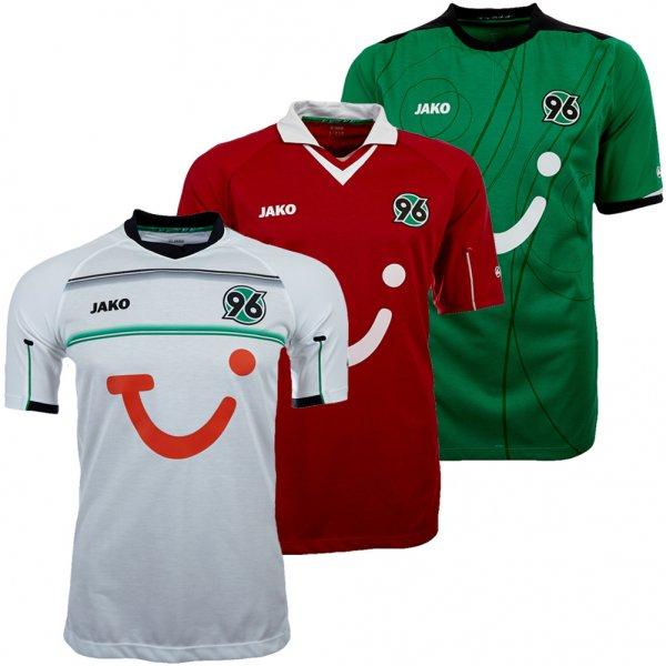 Alle Hannover 96 Trikot Saison 2012/2013 in fast allen Größen für je (ab) 11,99 €