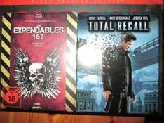 Steelbook The Ependables 1+2 Blu Ray  14,99€ und Total Recall 9,99 Müller
