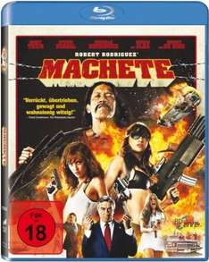 Machete (Blu-ray) für 6€ @Media Markt