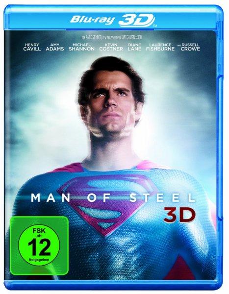 [mediamarkt.de Rausräumarlam] Man Of Steel (2D/3D) [Blu Ray] für 14  € inkl. Vsk
