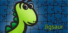Jigsaur Jigsaw Puzzle (Amazon App des Tages)