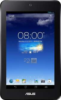 [Amazon WHD ] Asus MeMO Pad HD 7 17,8 cm (7 Zoll) Tablet-PC (MediaTek MT8125, 1,2GHz, 1GB RAM, 16GB SSD, Android 4.2) grau für 90,94€