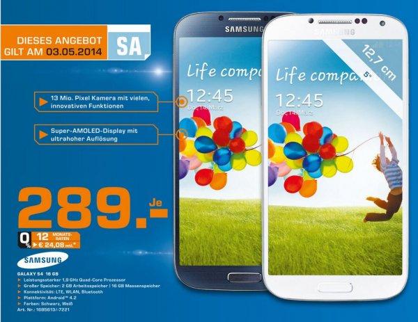 (Lokal:Ludwigshafen/Saturn) Tagesangebot Samsung Galaxy S4 16GB