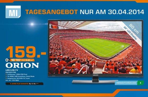 """[lokal] Orion 32"""" LED TV Tagesangebot @Saturn Dortmund / Lünen"""
