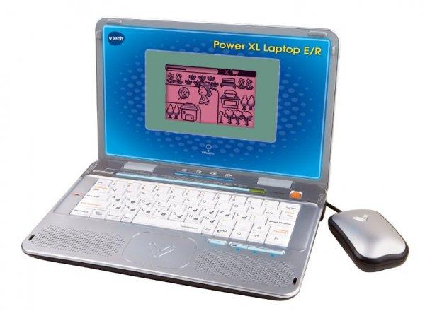 für die kleinen Steve Jobs -VTech 80-117904 - Power XL Laptop E/R @Amazon.de