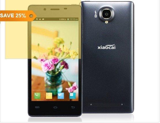 "LAST DAY - Xiaocai X9 4,5 ""kapazitive IPS Touch 960 x 540 MTK6582 1,2 GHz 3G Smartphone Android mit OTA, OGS, Dual-Kamera jetzt nur 97.75€ inkl. Versandkosten(25% Rabatt)"
