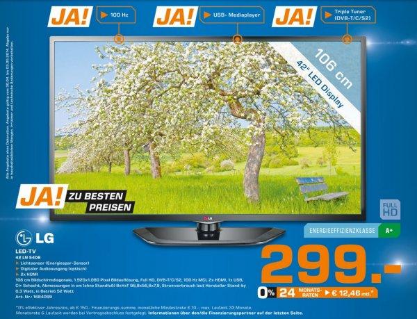 LG 42LN5406 für 299€ Lokal [Saturn Bocholt]
