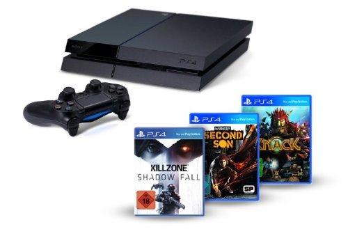 PS4 + Killzone: S.F., Knack + inFamous @ AMAZON 499,00€