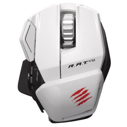 Mad Catz R.A.T.M Wireless Gaming Mouse weiß für 59,90€ @zackzack